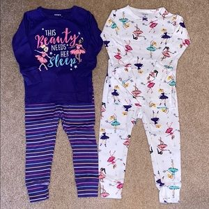 2 sets of pajamas